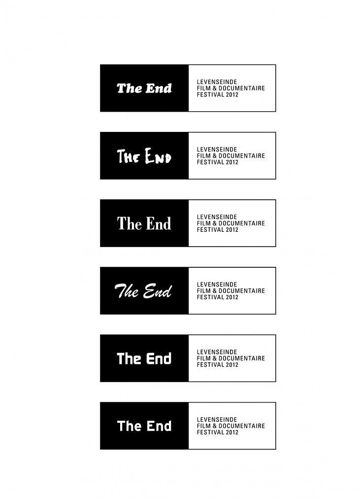 logo filmfestival The end