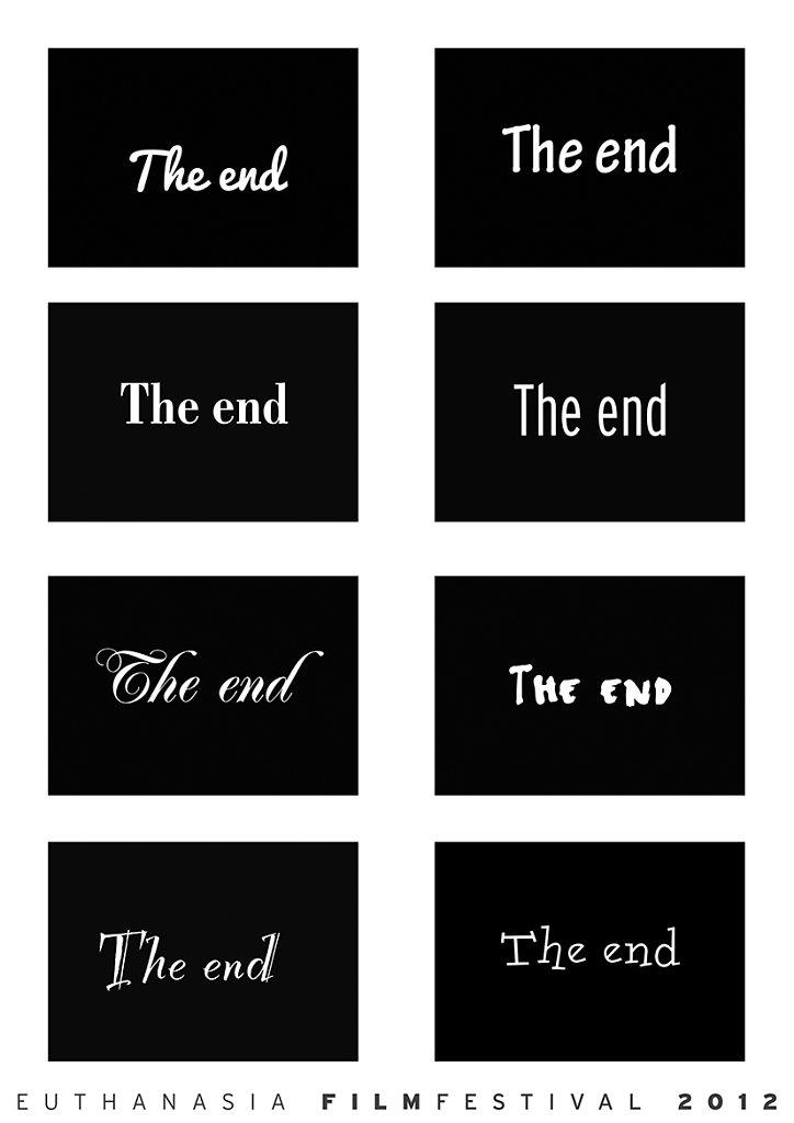 logo festival The end