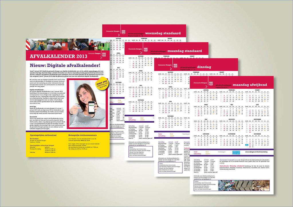Afvalkalender 2013