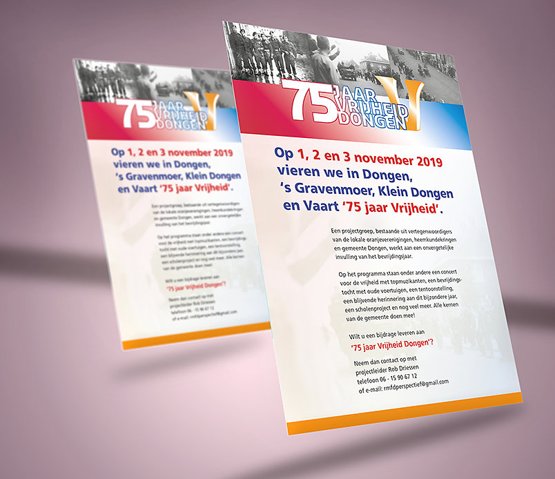 Bevrijding Dongen 75 jaar